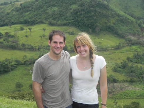 Scott and I in Nuevo Paraiso