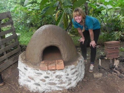 Our Mud Oven in La Honda